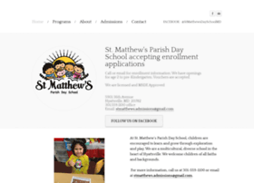 stmatthewsdayschool.com