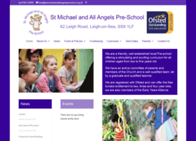 stmichaelandallangelspreschool.org.uk