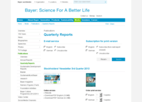 stockholders-newsletter-q3-08.bayer.com
