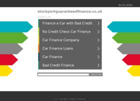 stockportguaranteedfinance.co.uk