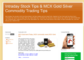 Mcx commodity options trading