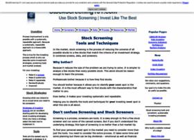 Stockscreening101.com