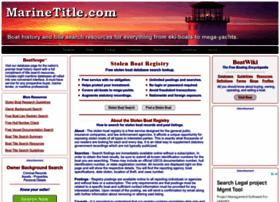 stolenboatregistry.com