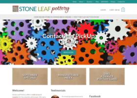 stoneleafpottery.com