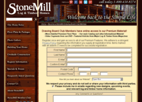 stonemillloghomes.com