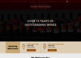stonemountainwinecellars.com