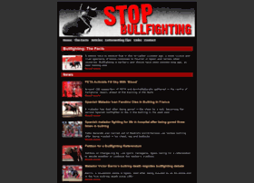 stopbullfighting.org.uk