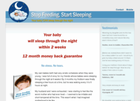 stopfeedingstartsleeping.com