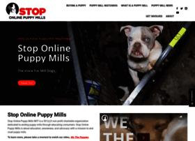 stoponlinepuppymills.org