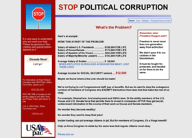 stoppoliticalcorruption.com