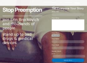 stoppreemption.com