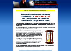 stopprocrastinating.net