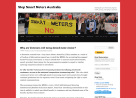 stopsmartmeters.com.au