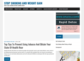 stopsmokingandweightgain.com
