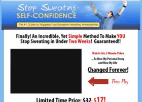 stopsweatingsecret.com