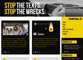 stopthetexts.adcouncil.org