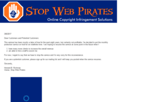 stopwebpirates.com