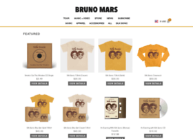 store.brunomars.com