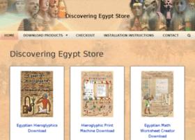 store.discoveringegypt.com