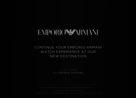 store.emporioarmaniwatches.com