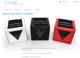 store.fabtotum.com