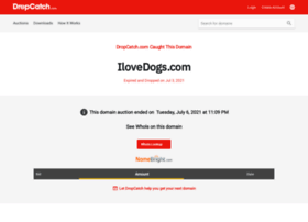store.ilovedogs.com
