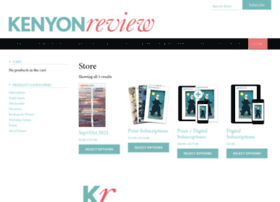 store.kenyonreview.org