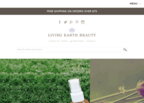 store.livingearthbeauty.com