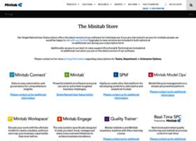 store.minitab.com
