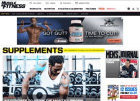 store.muscleandfitness.com