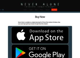 Store.neveralonegame.com