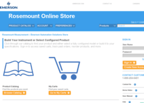Store.rosemount.com