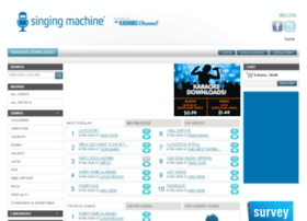 store.singingmachine.com