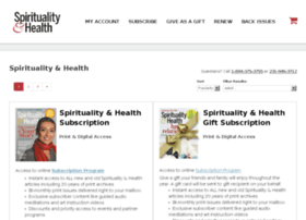 store.spiritualityhealth.com