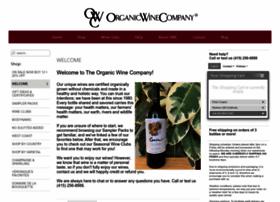 store.theorganicwinecompany.com