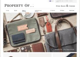 store.thepropertyof.com