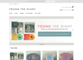 store.youngthegiant.com