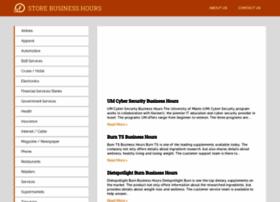 storebusinesshours.com
