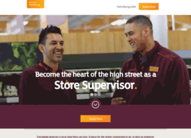 storesupervisors.careersatsainsburys.com