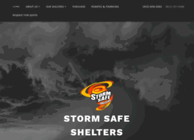 stormsafeshelters.com