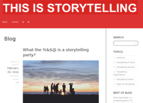 storytellingparties.com