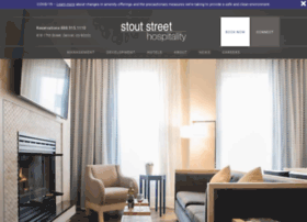 Stoutstreethospitality.com