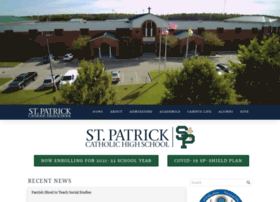 stpatrickhighschool.net