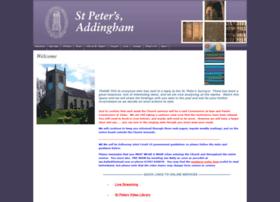 stpetersaddingham.org.uk