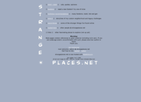strangeplaces.net