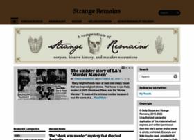 strangeremains.com