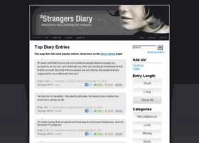 strangersdiary.com