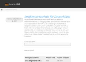 strassenverzeichnis.deutschlandblick.com