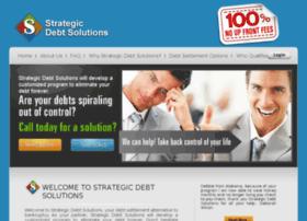 strategicdebtsolution.com
