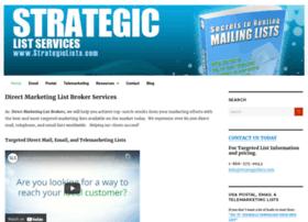strategiclists.com